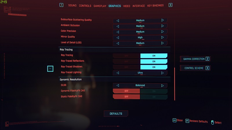 cyberpunk settings 1