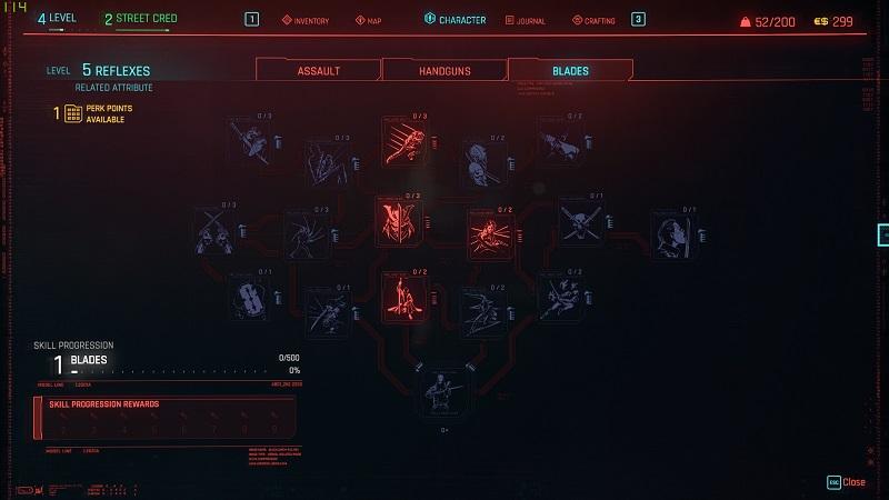 cyberpunk skills