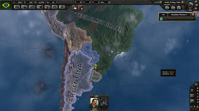 hearts of iron 4 brasil fascista