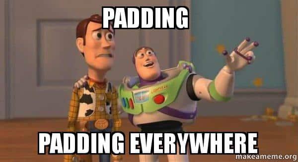 padding-padding
