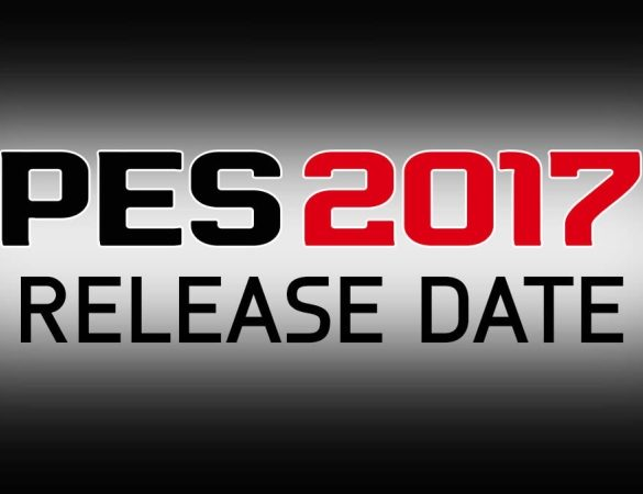 pes 2017 data de lançamento