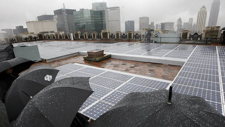 China Energia Solar Chuva Grafeno