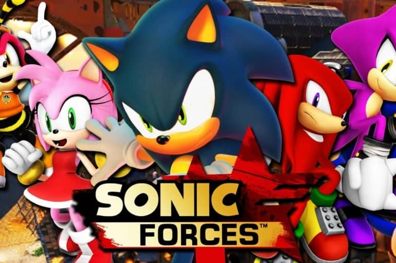 sonic forces cover