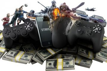 video gaming 36 billion 91 billion 2016