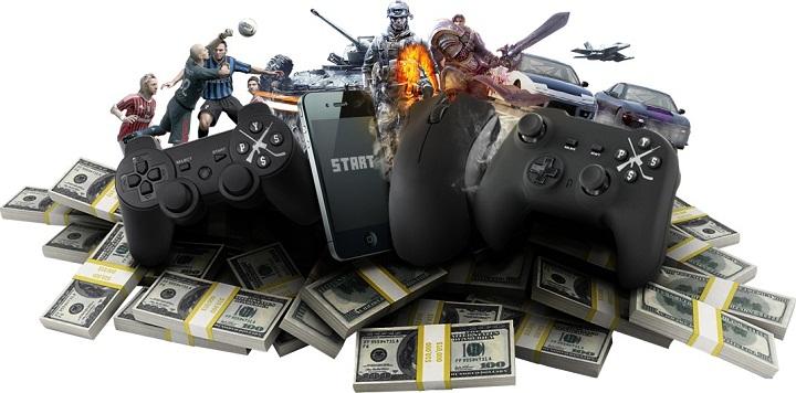 video gaming 36 billion 91 billion 2016