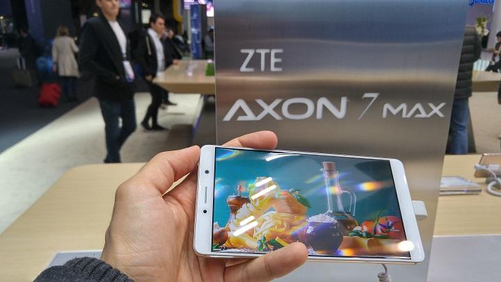 zte axon 7 max mwc 2017